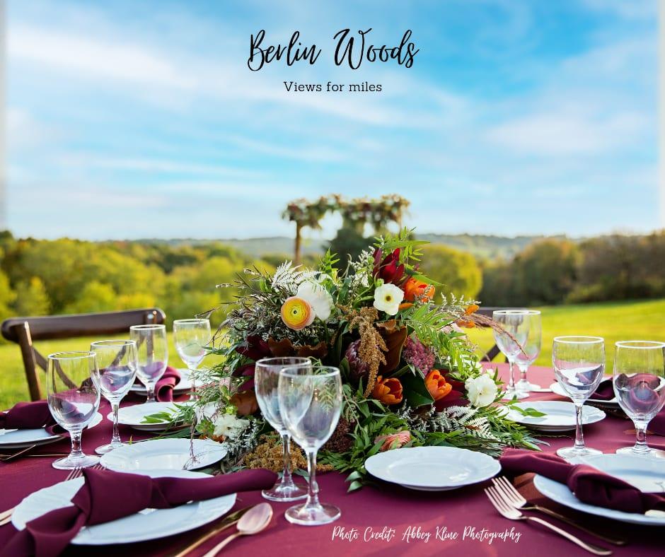 Berlin Woods Boutique Outdoor Wedding